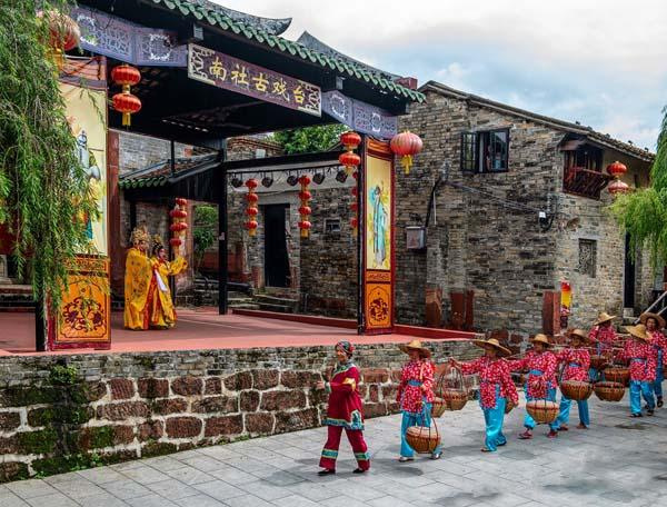 广东人春节去哪里玩?当然是南社明清古村落!