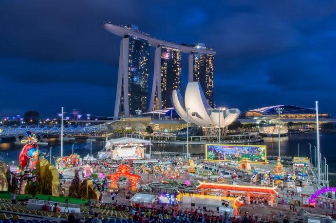 新加坡欢庆农历新年,春节避寒新体验