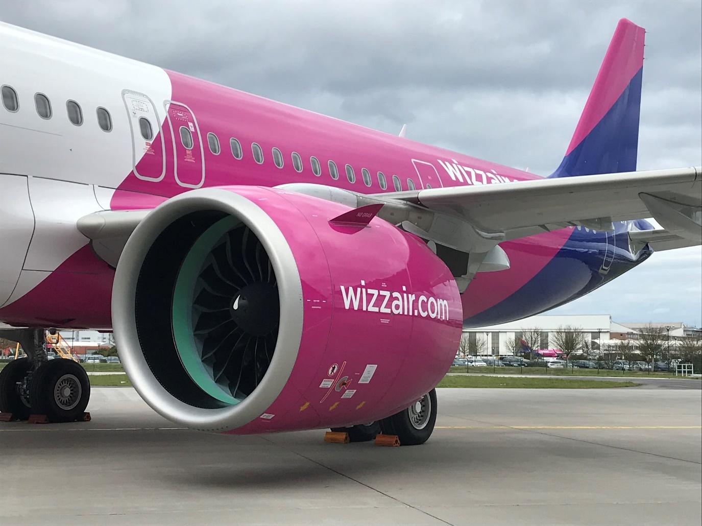 威兹航空接收首架由普惠GTF™发动机提供动力的空中客车A321neo飞机