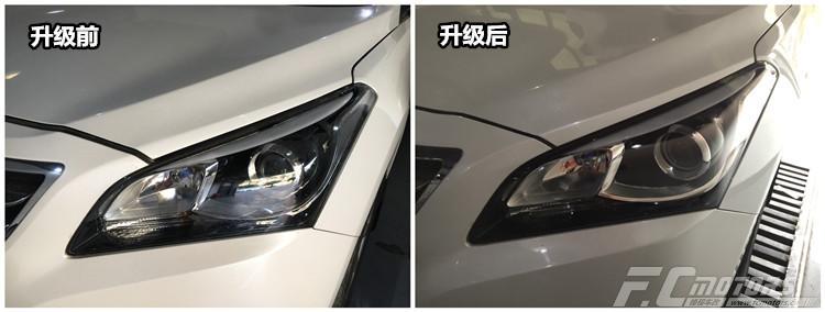 汽车LED灯泡那种好深圳罗湖黄贝现代名图升级海拉五双光透镜ag环亚