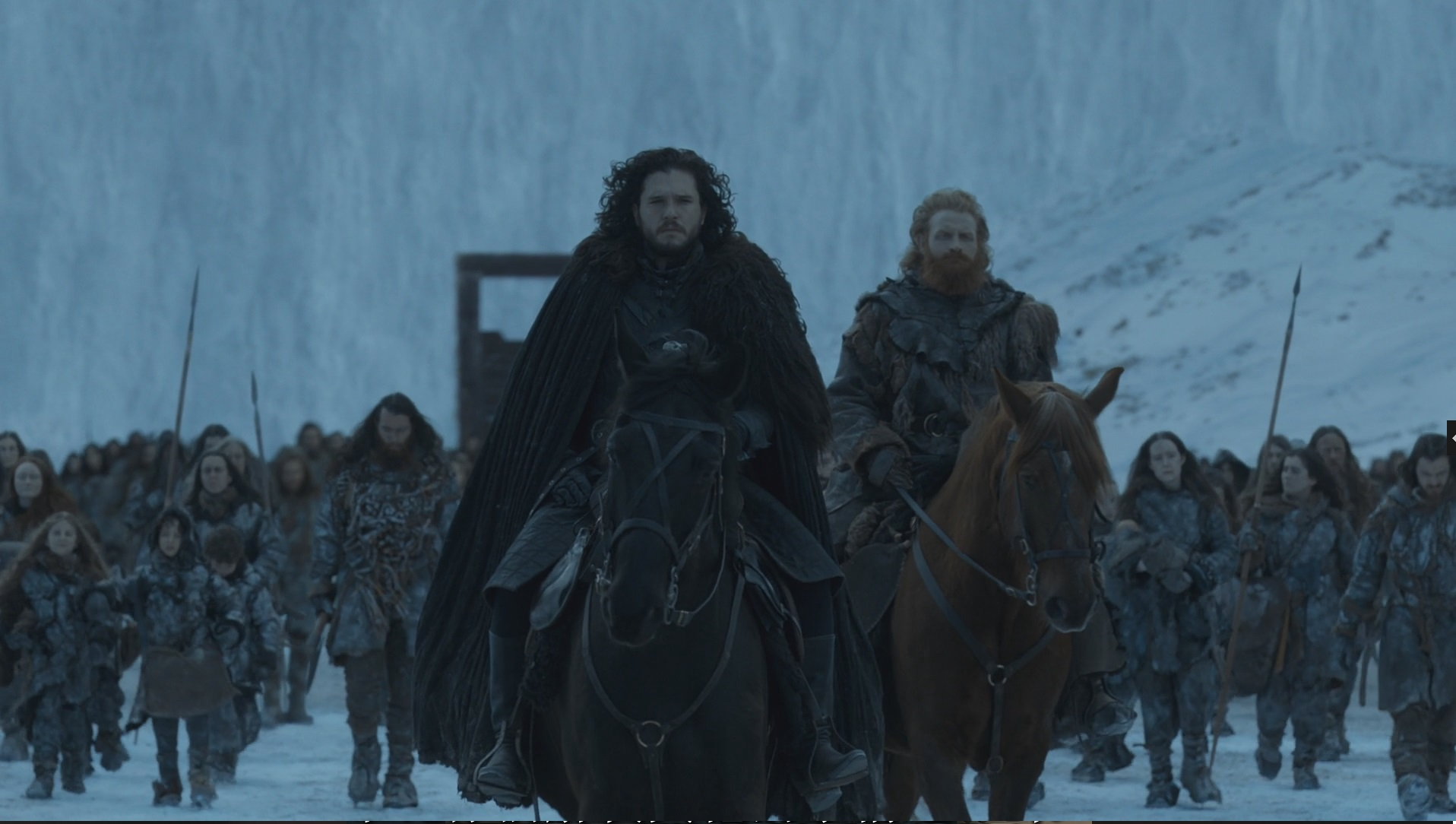 Game of Thrones Jon Snow y Tormund