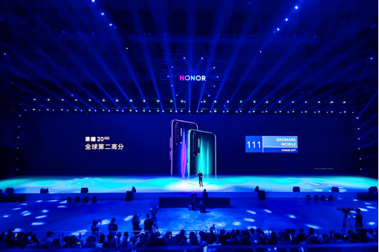 DxO全球第二高分 荣耀20系列上海发布 售价2699元起