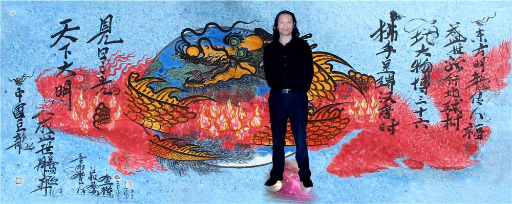 别具人格魅力的中国书画名家:陈金辉