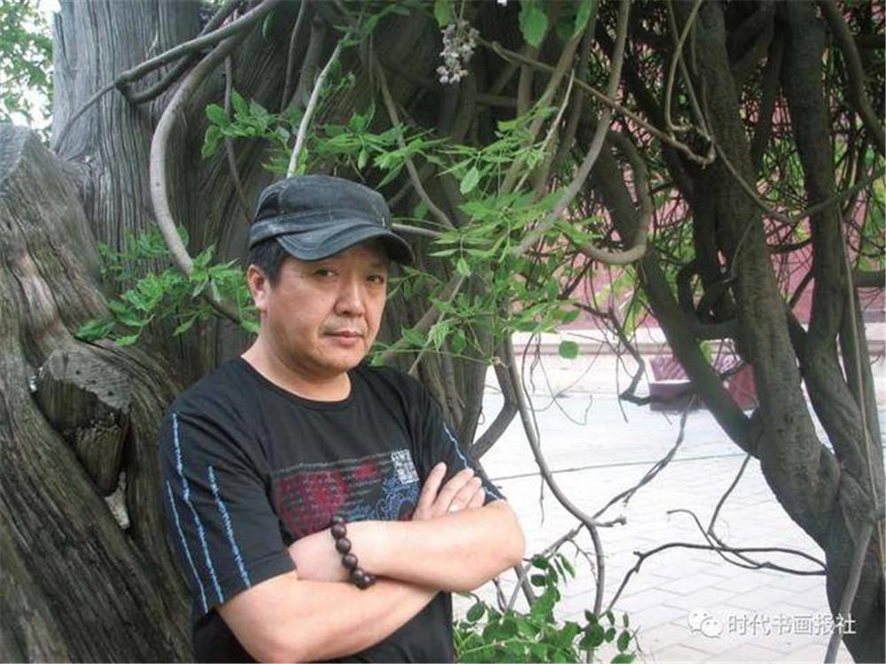 艺术家李明献礼建国70周年
