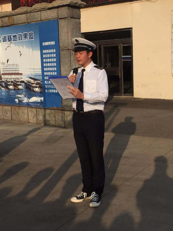 向国旗敬礼 向祖国致敬——青岛海洋技师学院海洋学院隆重开启爱国主题宣传月活动