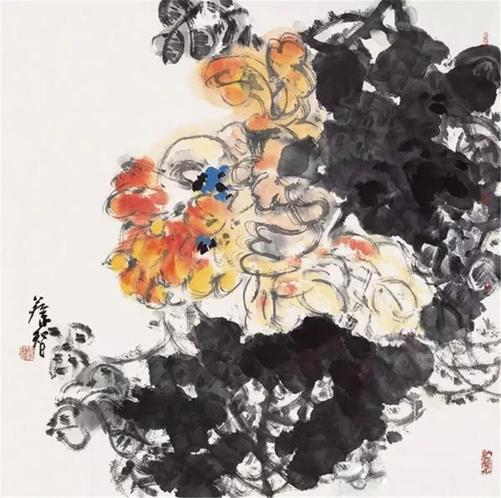 中国书画形象人物:蔡智