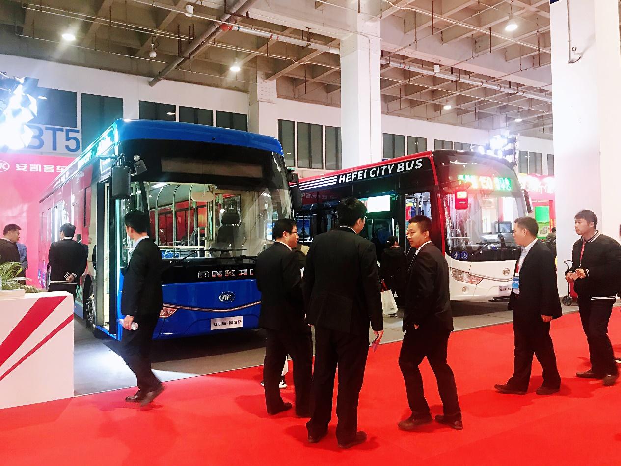 亮相2019国际公共交通装备与技术展览会,安凯新能源客车备受青睐