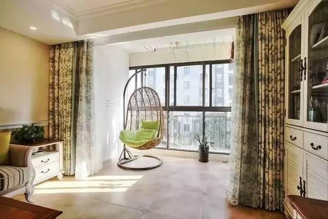 我的关键词 120平屋子,老公把阳台进客厅放一张吊椅,没想到结果这么都雅  消息资讯