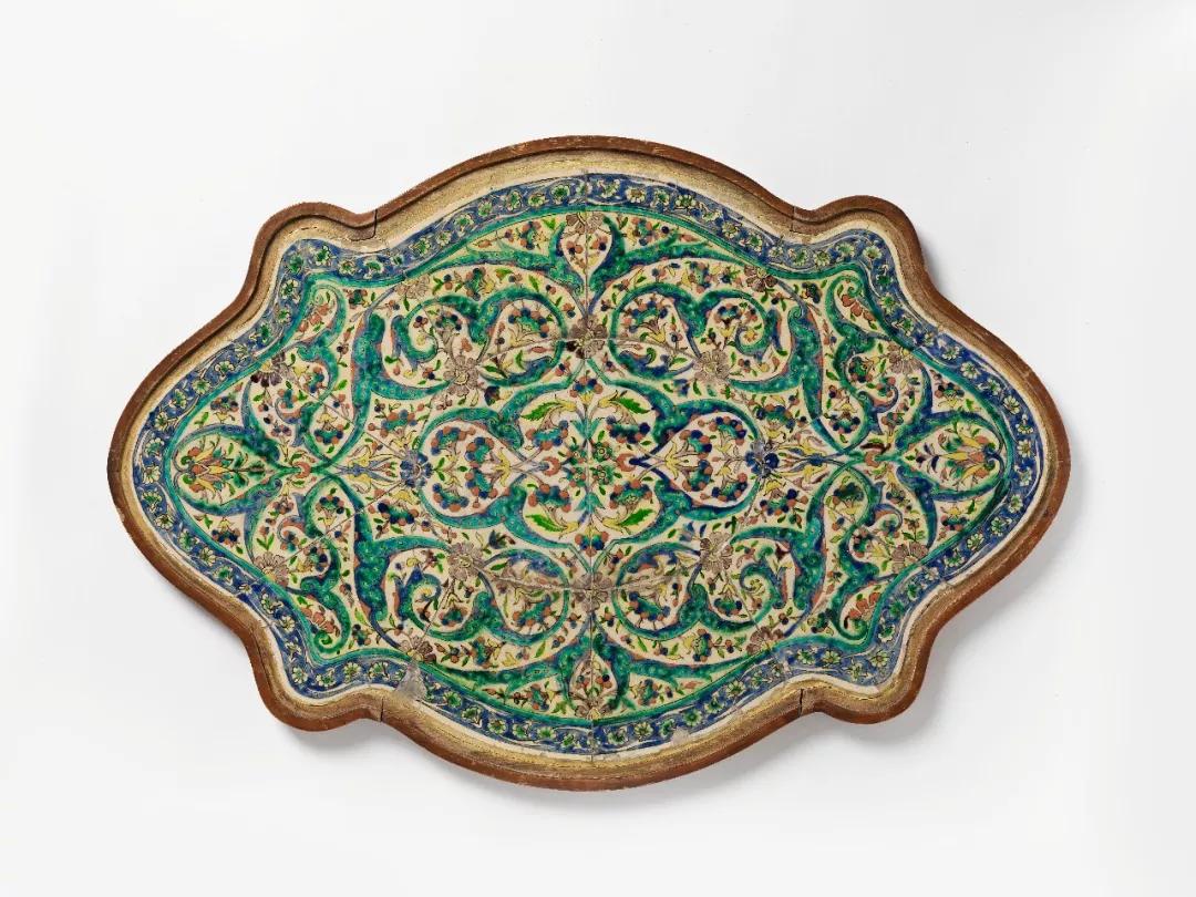 """以色列博物馆展讯丨""""天堂一瞥""""耶路撒冷亚美尼亚陶瓷100年"""