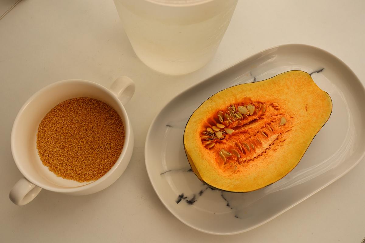 小米糊浓香有小妙招,加一料营养翻倍,早晚喝1碗,肠胃舒服身体壮