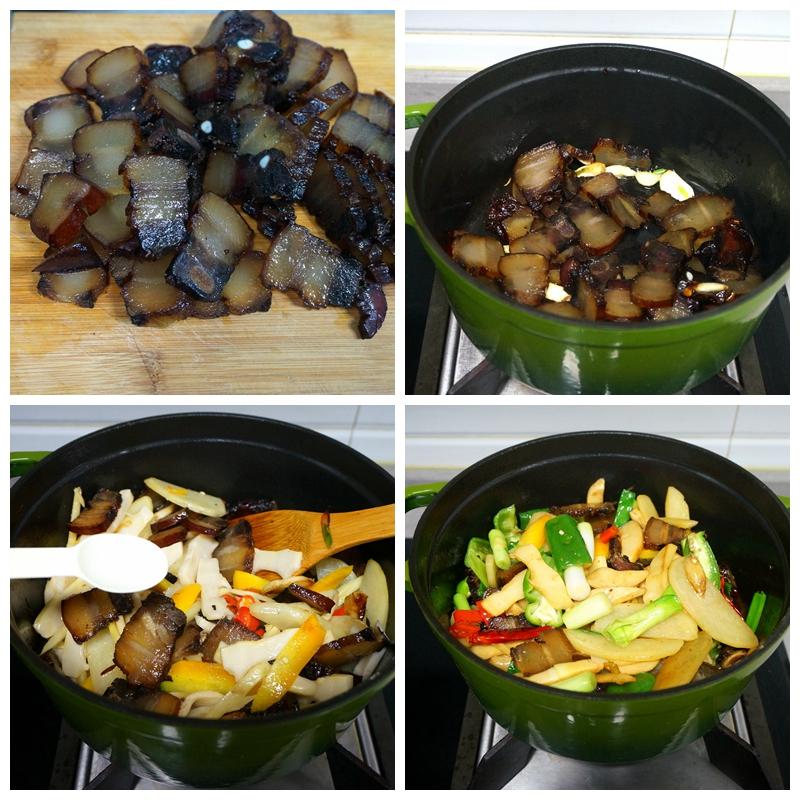 腊肉不要直接下锅炒,多做一步,香润好吃不油腻