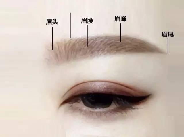 如何修眉型与脸型图解