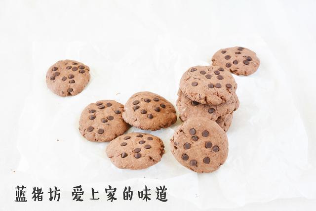 如何做出巧克力浓郁的趣多多?学会这些就能逆天 - 蓝冰滢 - 蓝猪坊 创意美食工作室