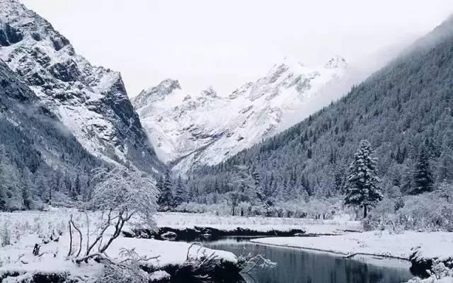 微信冬季风景图片