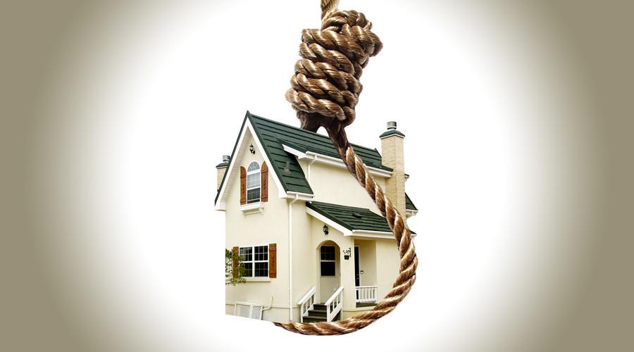 抵押贷款买房,一旦房价暴跌,银行可能会收走你家的房子!