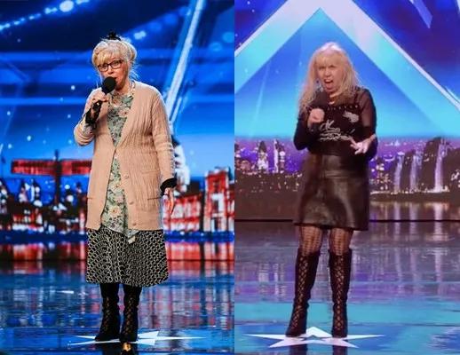 68岁奶奶参加选秀遭疯抢,现场脱衣嗨翻全场:你奶奶永远是你奶奶!
