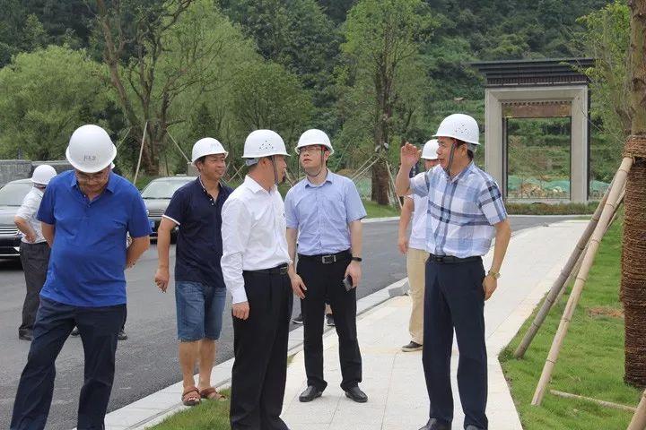 李兴辉副市长到月之泉督导环保工作
