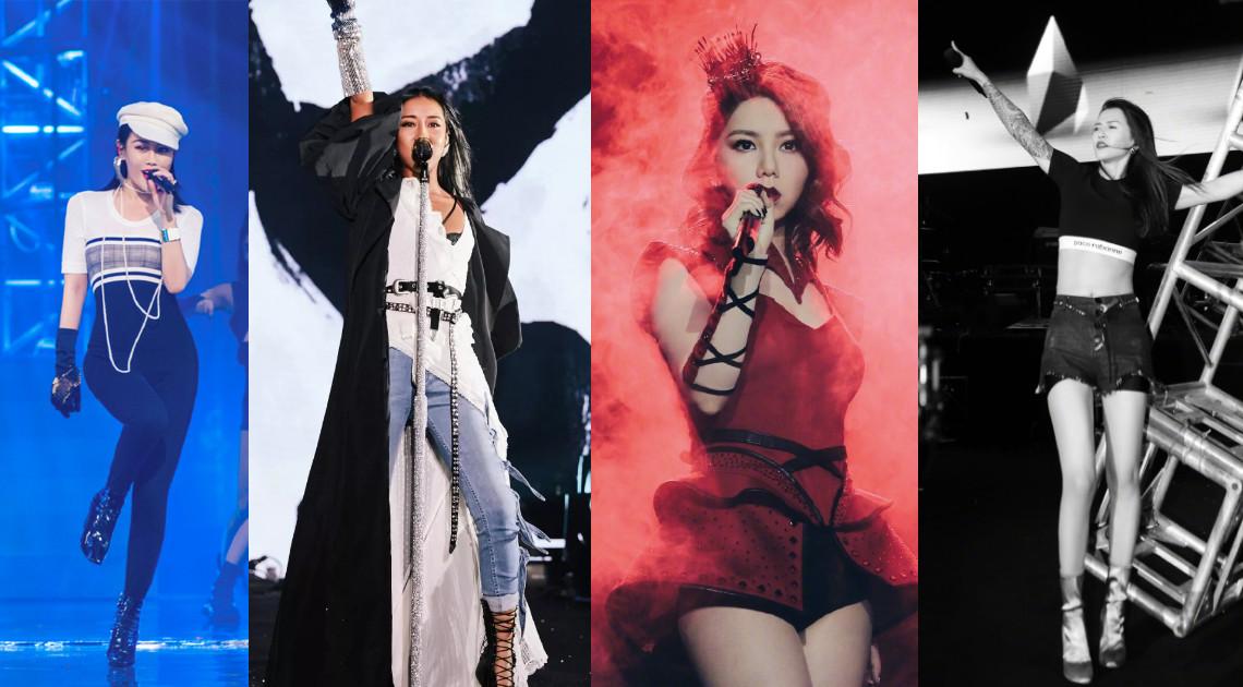 这4个实力女歌手要是组团出道,还有其他女团什么事啊!