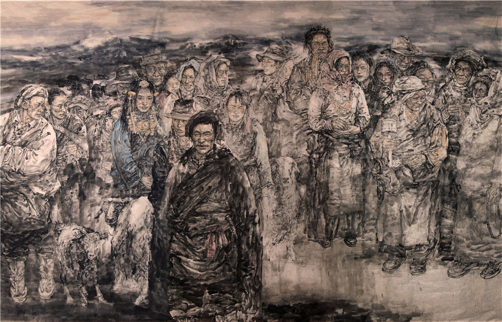 著名画家郭英华与他的艺术之路