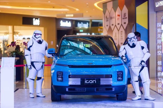 体验SUV新物种,何须跑4S店,吉利ICON就在你身边
