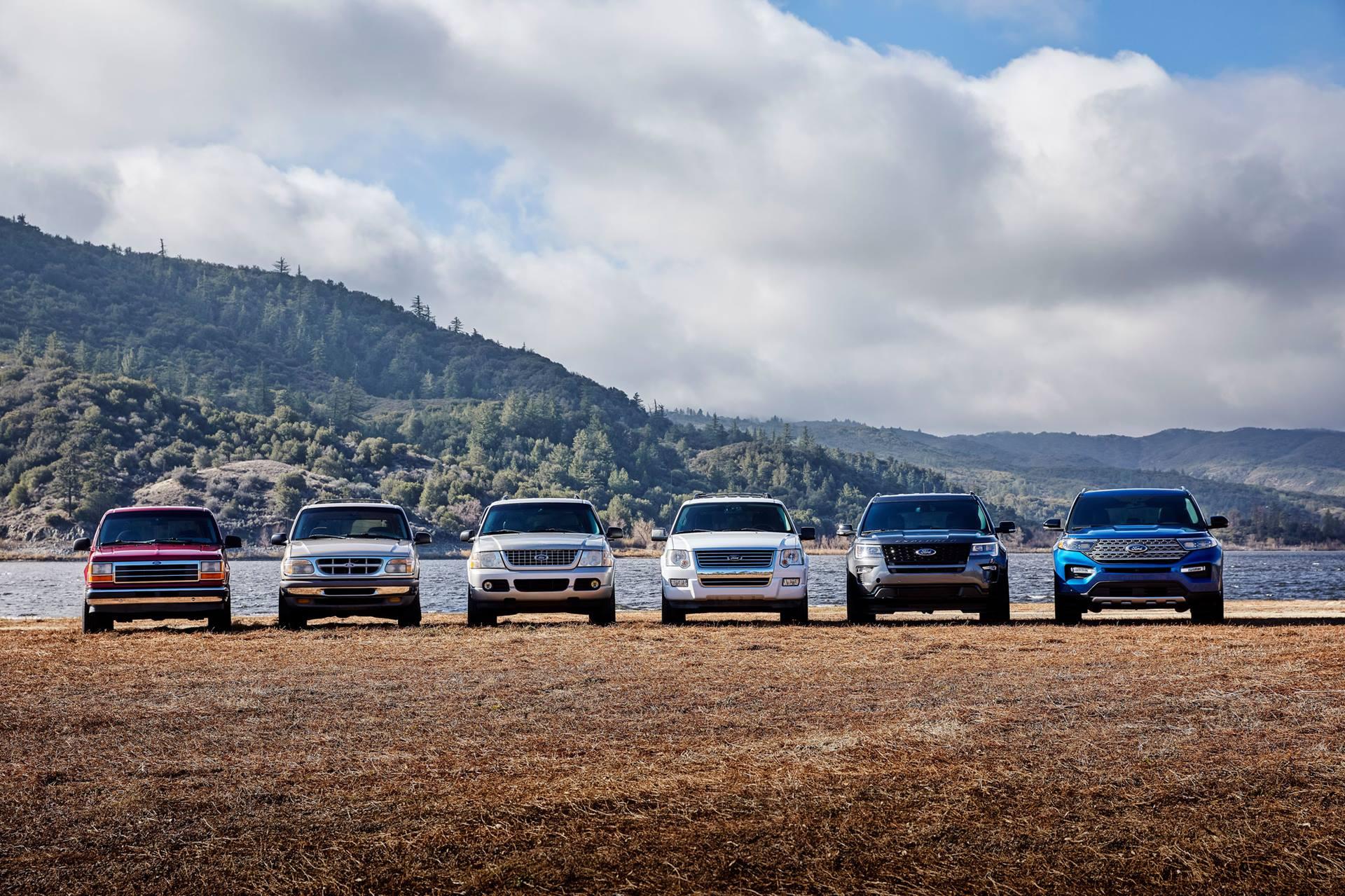 全新第六代福特探险者上市,30.98万起,重新定义合资旗舰SUV