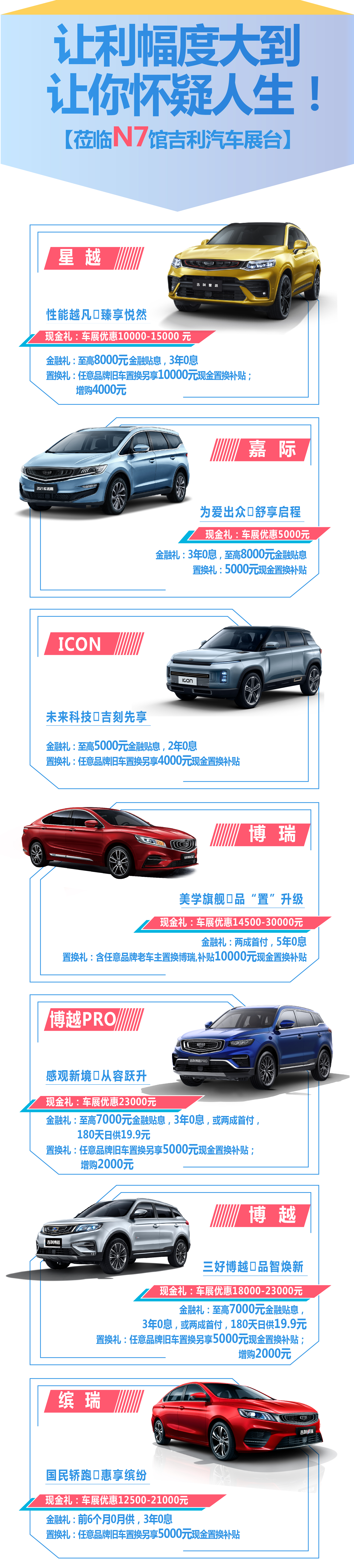 谁在狂撒一个亿?重庆国际车展N7馆吉利展台告诉您