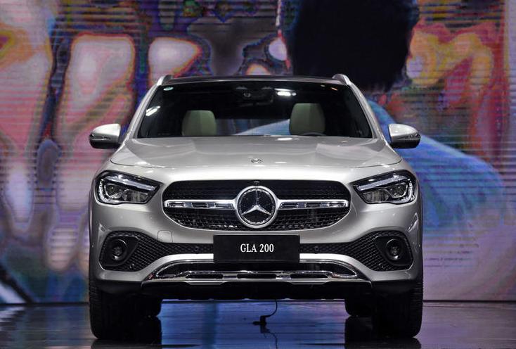 新款奔驰GLA亮相,换代力度够大,奥迪Q3最重要的对手