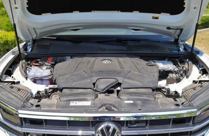 只在德国销售,大众发布途锐V8,4.0L V8柴油发动机够狠