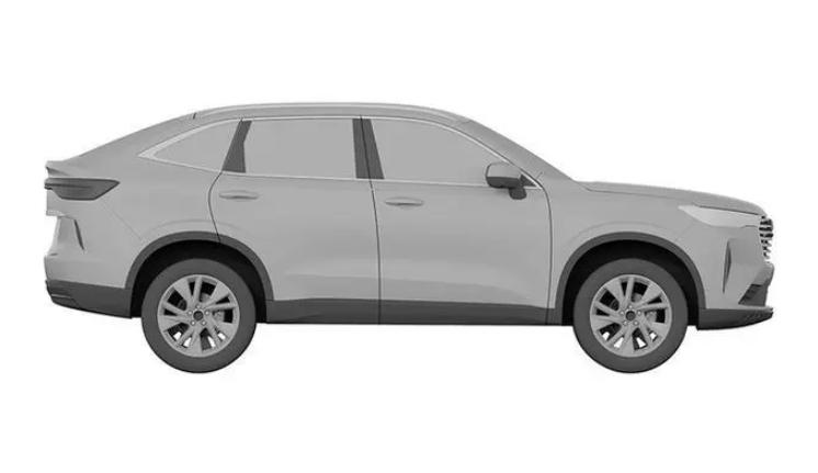 SUV销冠迎重要补强,第三代H6轿跑版曝光,姿态不输豪华品牌