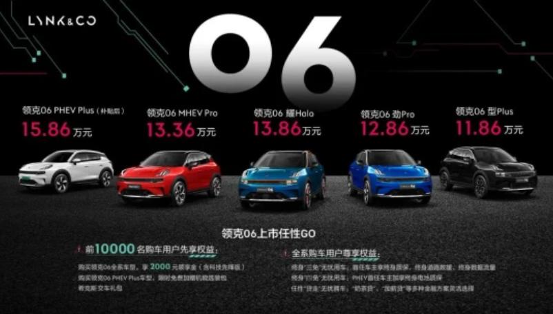 仅11.86万起,领克06给同级SUV带来哪些难题?