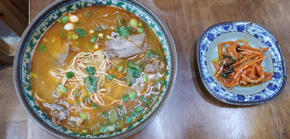 你家牛肉汤放了什么料味道这么好?