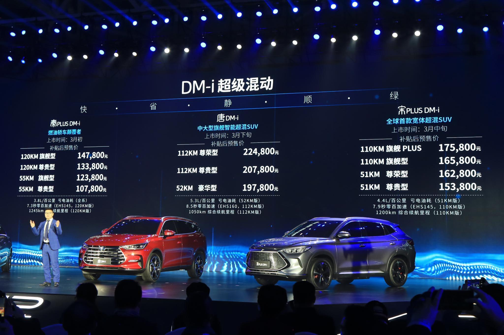 从两款新车预售,看DM-i超级混动究竟给比亚迪带来了什么?