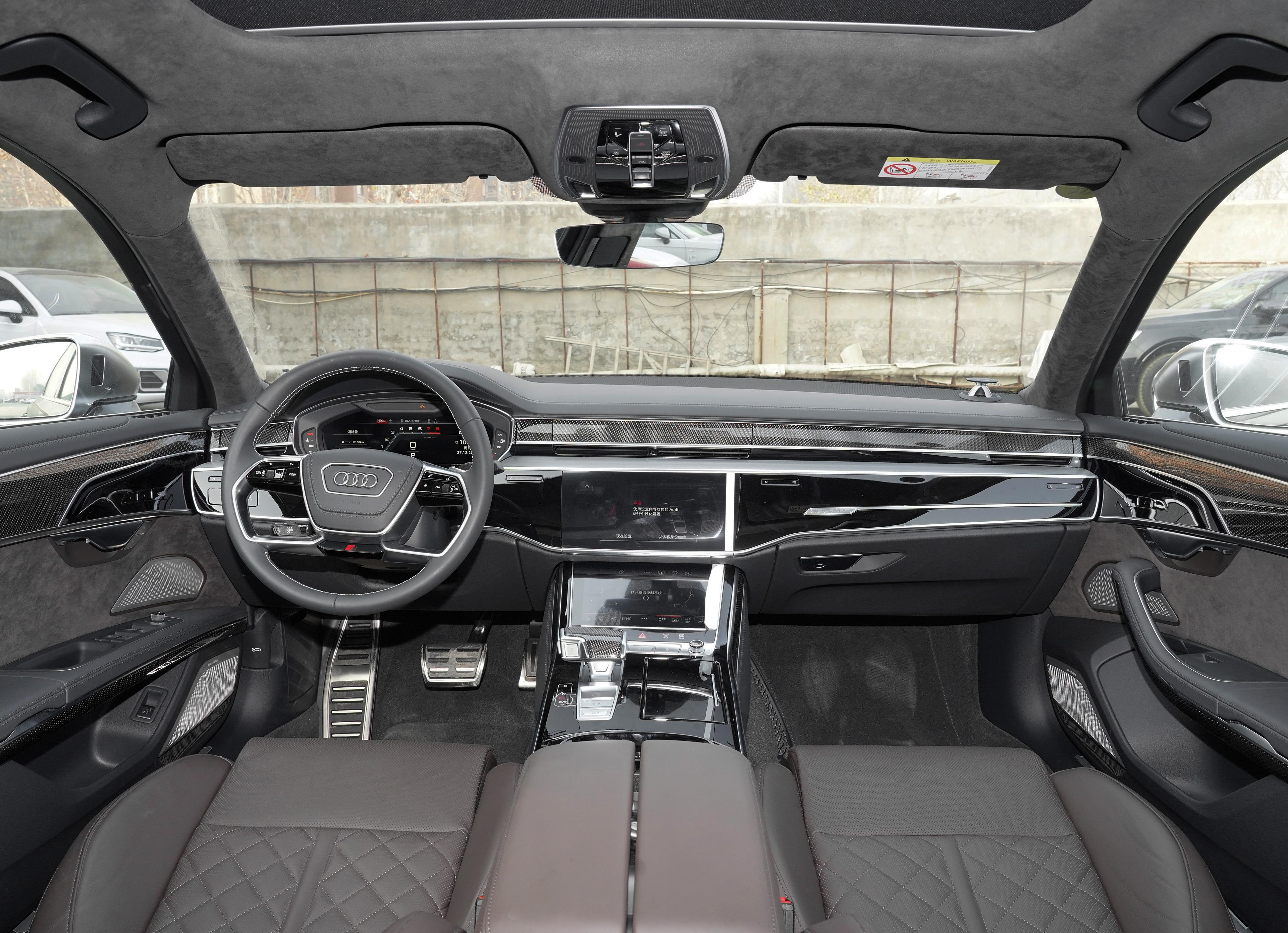 据说有人已经提车了,200万的奥迪S8L强在哪?