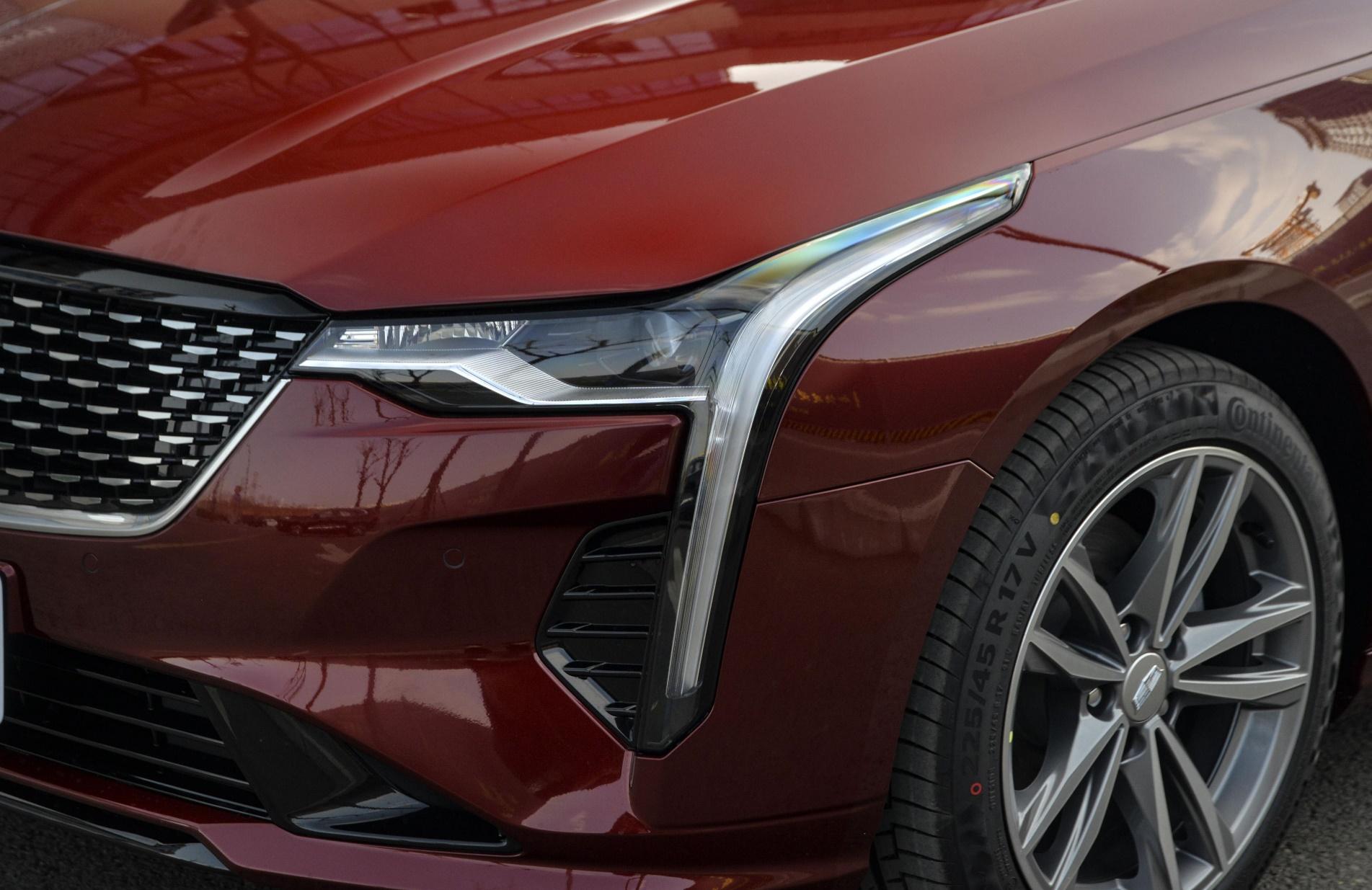 凯迪拉克CT4改款车型上市,颜值小幅变化,配置有调整