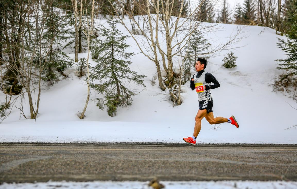 2021中国山地马拉松系列赛-吉林长白山站暨第二届长白山林海雪地马拉松赛鸣枪开跑
