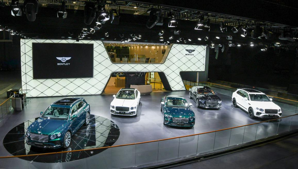 賓利新添越插電混動版在上海車展首次亮相 即將到店賓利北京-五棵松