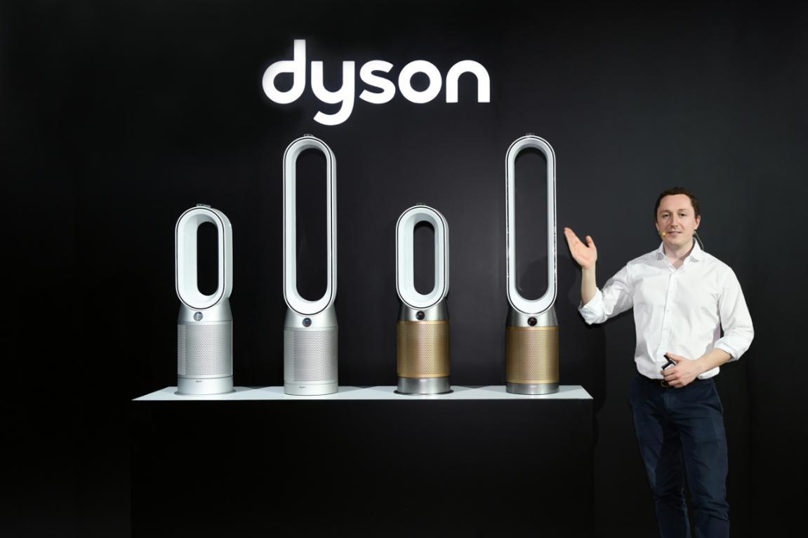 戴森发布空气净化风扇新品,长效监测并清除甲醛