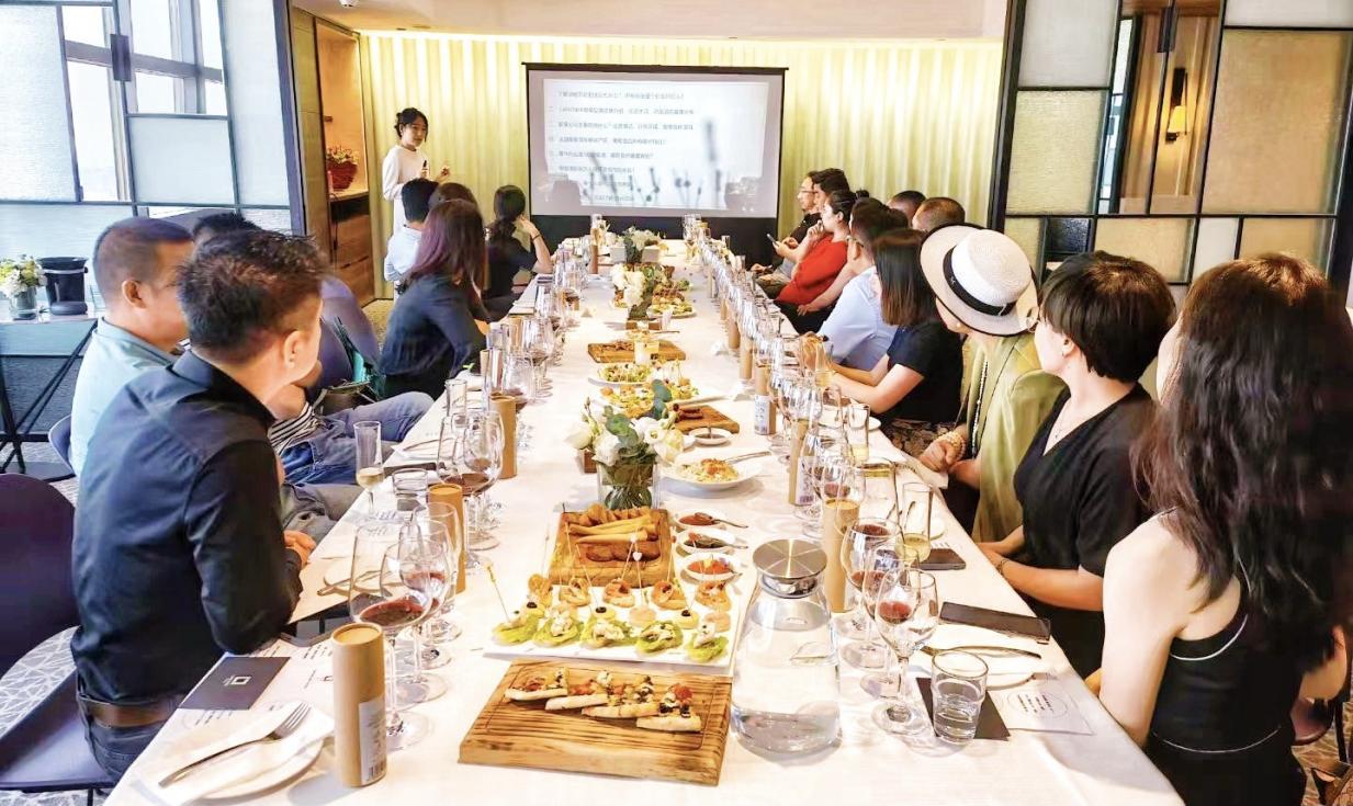 华徒戈友走进黎享生活——法式葡萄酒品鉴会在京成功举行