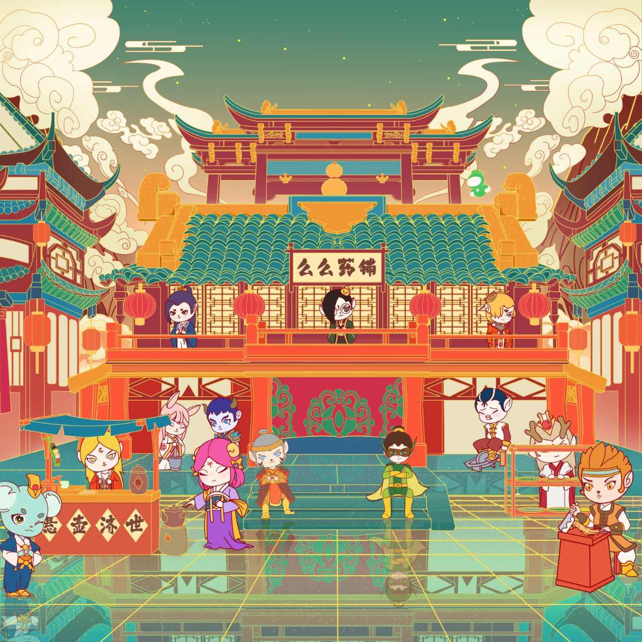 千年汉文化,更多趣味和精彩尽在汉风徐来!